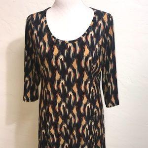 SUSAN QRAVER Quality Size L Dress